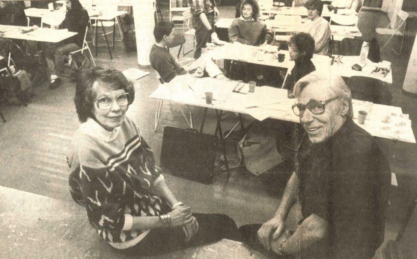 Sidsel og Einar Granum 1988