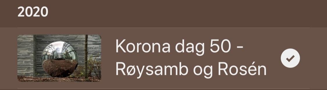 """NRK-serien """"Kunst under korona"""""""