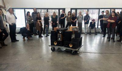 """Workshop i """"Lyden av byen"""""""