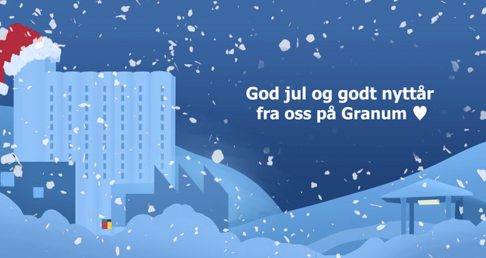 Julehilsen fra Granum 2019